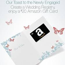 free gift with wedding registry free 20 gift card with new wedding registry cheaps