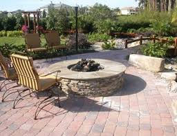 Paver Patio Designs With Fire Pit Paver Patio Pictures Gallery Landscaping Network