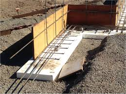 types of foundations for homes placing a concrete foundation on rigid foam insulation