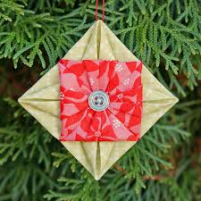 sy elsk lev sew live fabric origami ornament tutorial