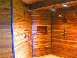 Outdoor Shower Ideas by Homemade Outdoor Shower Enclosure Patio Ideas