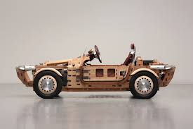 wooden car toyota built a beautiful wooden car without using nails or screws