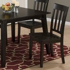 Slat Back Dining Chairs Jofran Simplicity Wood Slat Back Dining Chair In Espresso Set Of