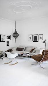 scandinavian home inspirations white grey and lots of fur