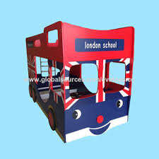 china 2016 car design wooden kids u0027 double deck bed w08a050 on