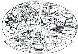 healthy food coloring pages preschool healthy foods coloring pages healthy food coloring page healthy