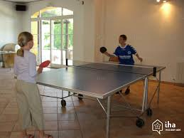 Ping Pong Table Rental House For Rent In A Charming Property In Cadenet Iha 5889