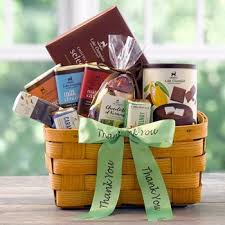 thank you basket thank you chocolate gift baskets lake chlain chocolates