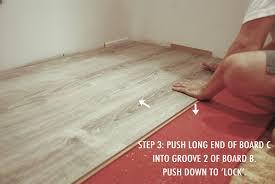 How To Install Locking Laminate Flooring The Basement Installing The U0026 Laminate Rambling Renovators