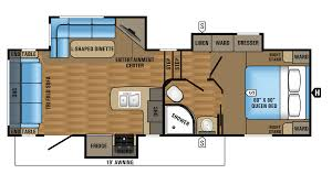 Jayco Travel Trailers Floor Plans by 2017 Jayco Eagle Ht 24 5ckts Model
