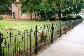 decorate with wrought iron fence panels home design ideas