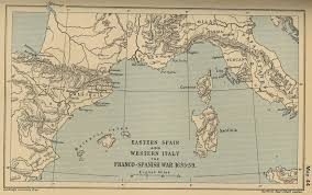 Spanish Map Of North America by