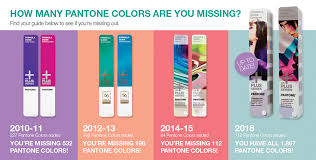 color of intelligence color intelligence how many pantone colors are you missing