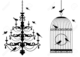 Black Chandelier Clip Art Clipart Chandelier Cliparts Stock Vector And Black Chandelier