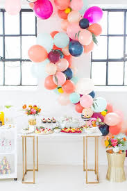 Dessert Table Backdrop by 21 Sweet Balloon Decorations For A Bridal Shower Shelterness