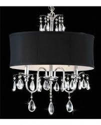 Chandeliers With Shades And Crystals by Crystal Chandelier With Shade Foter