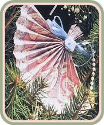 victorian paper fan medallion oranaments paper ornaments