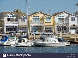 balboa peninsula balboa city newport beach orange county stock
