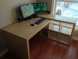Ikea Stand Up Desk Hack by Desk Floating Desk Ikea With Pleasant Brackets For Shelves Ikea