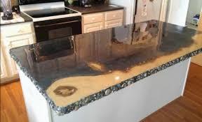 comptoir ciment cuisine plancher chic comptoir en béton