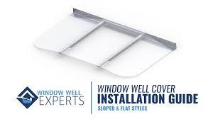 window well covers installation guide youtube