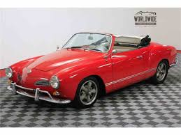 volkswagen old red classic volkswagen karmann ghia for sale on classiccars com