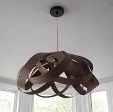 Ceiling Lamp Shades Wooden Daisy Pendant Lampshade By Randomlights