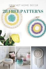 home decor 28 free crochet patterns u2013 picot pals
