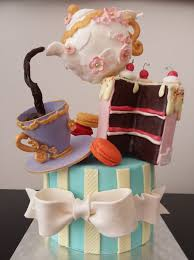 topsy tea party cake
