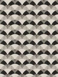 Black Drapery Fabric Parquet Silver Sage Gray Blue Geometric Upholstery Fabric