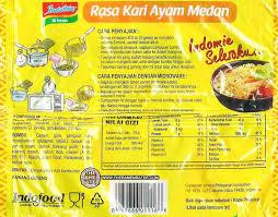 Minyak Goreng Gelas 728 meet the manufacturer indomie mi instan rasa kari ayam medan