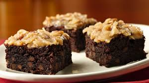 gluten free german chocolate brownies recipe bettycrocker com