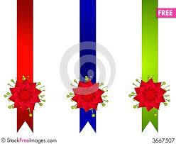 christmas ribbon bows decorative christmas ribbons and bows borders free stock images