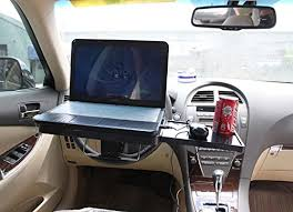 mobile laptop desk for car aumo mate multi use car dining table food meal desk auto laptop desk