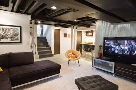 living room basement ideas man cave awesome basement into the