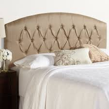diamond tufted headboard bedroom cheap minimalist queen bed frame design with simple linen