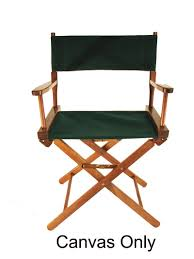 The Directors Chair On The Set Custom Size Sunbrella Directors Chair Replacement Covers
