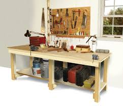 how to build a work table how to build a workbench diy workbench plans easy designs and