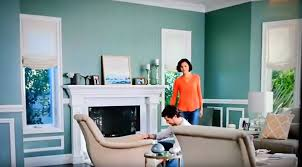 what is the paint color of the walls in the home depot and martha