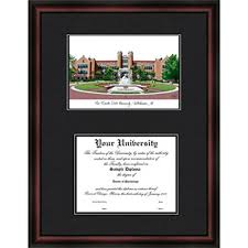 fsu diploma frame fsu florida state diploma frame