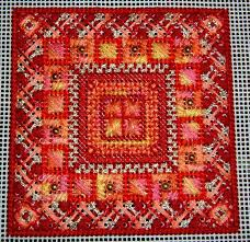canvas for embroidery lid for needlepoint box printed canvas
