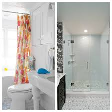 Glass Door Showers Replace Shower Door With Curtain Free Home Decor