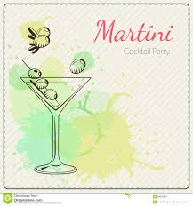 martini vector martini hand drawn vector illustration of cocktail colorful