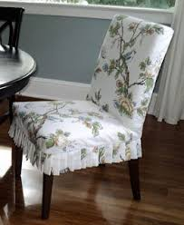 Best Parson Chairs Images On Pinterest Parsons Chairs Chairs - Dining room chair slipcover patterns