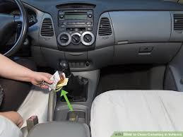Learn How To Do Car Upholstery How To Clean Carpeting In Vehicles With Pictures Wikihow