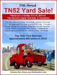 County Line Sale Barn Tn52 Yard Sale The Second Longest Yard Sale In Tennessee