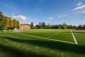 Football Field In Backyard Hiawatha Playfield Parks Seattle Gov