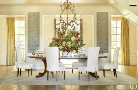Dining Room Decor Sophisticated Dining Room Decor By Ad100 Designers Photos