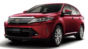 suv toyota 2017 toyota harrier updated in japan new 2 0l turbo safety sense p as