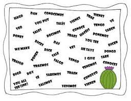 spanish speaking activity irregular yo form verbs by the